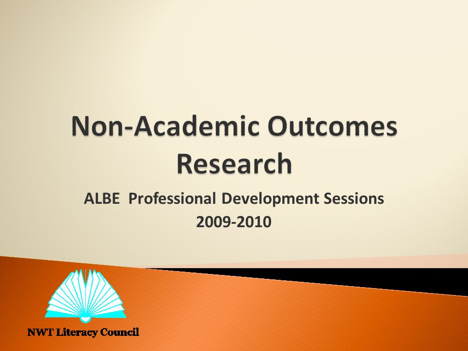 ALBE Professional Development Sessions 2009-2010