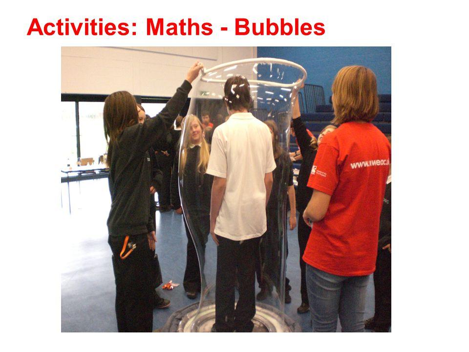 Activities: Maths - Bubbles