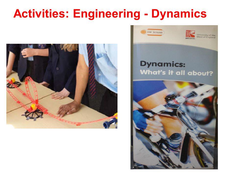 Activities: Engineering - Dynamics