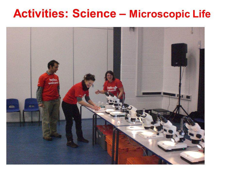Activities: Science – Microscopic Life