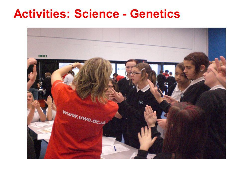 Activities: Science - Genetics