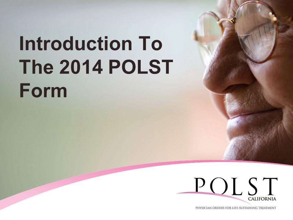 2011 POLST Form