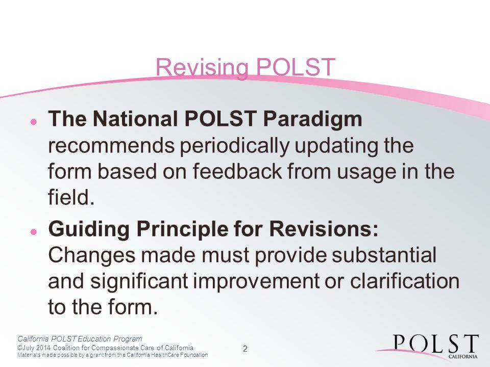 2014 POLST Form