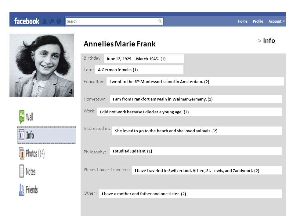 Annelies Marie Frank > Friends Adolf Hitler -Enemy.
