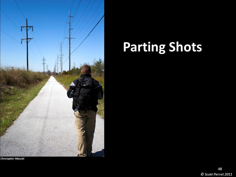 Parting Shots Christopher Mazzoli 48 © Scott Perret 2011