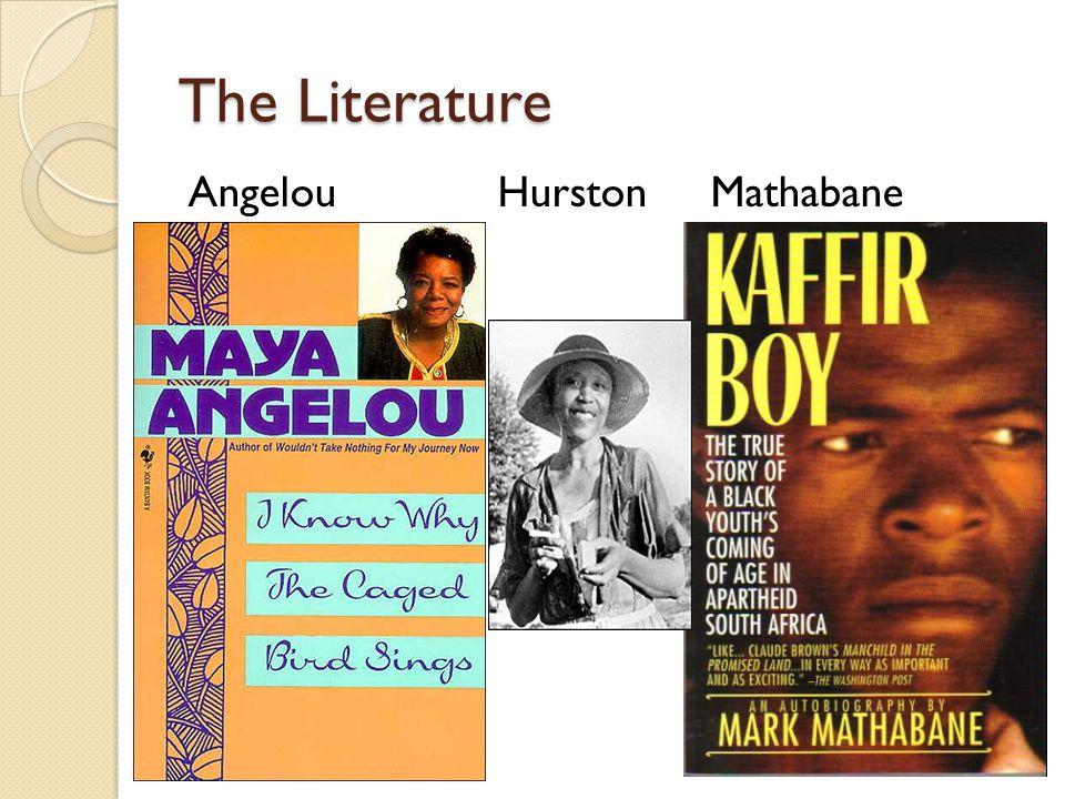 The Literature AngelouHurstonMathabane