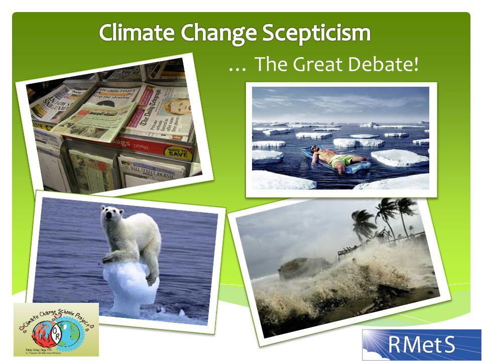 … The Great Debate!