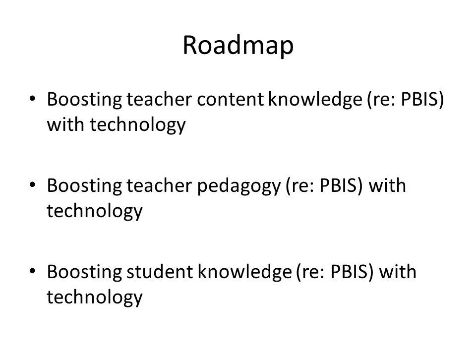 Part I: Improving Teacher Knowledge