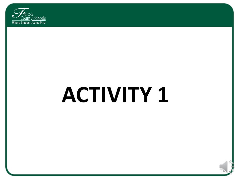 Activities 1 and 2 Please take the next few minutes to work through our activities regarding choice options and provide your input.
