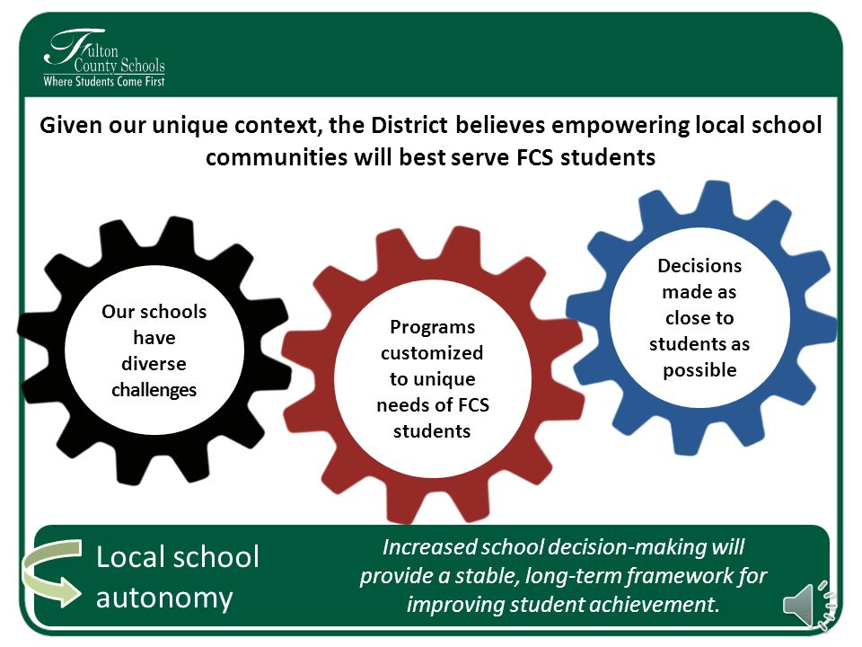Goals for Today's Forum Educate families on FCS choice options and what expansion may involve Engage and partner with families in the District's work 2 Collect input from families to inform expansion of choice options
