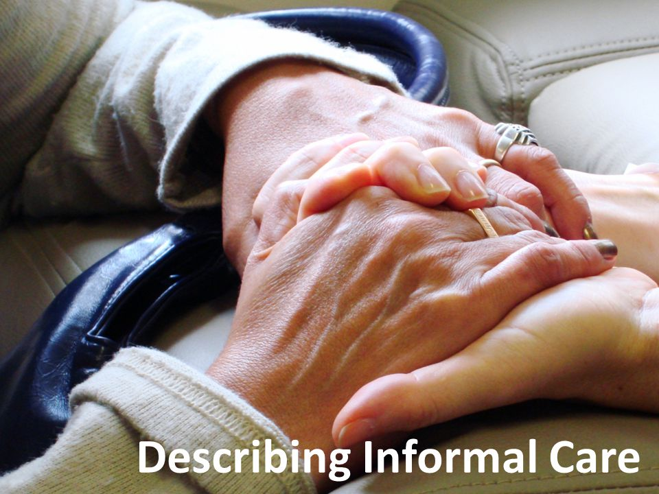 What is informal care.