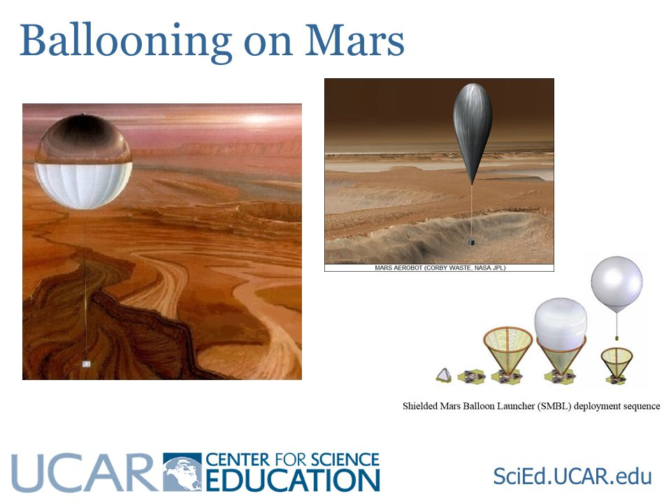 Ballooning on Mars SciEd.UCAR.edu