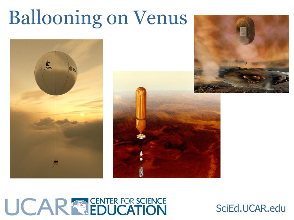 Ballooning on Venus SciEd.UCAR.edu