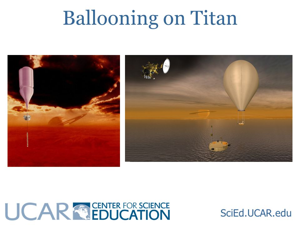 Ballooning on Titan SciEd.UCAR.edu