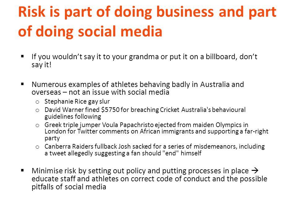 Social media blunders  Mistakes happen. Say sorry. Learn.