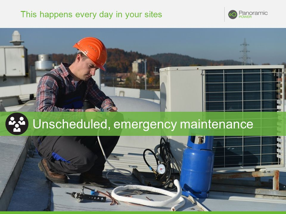 This happens every day in your sites Unscheduled, emergency maintenance
