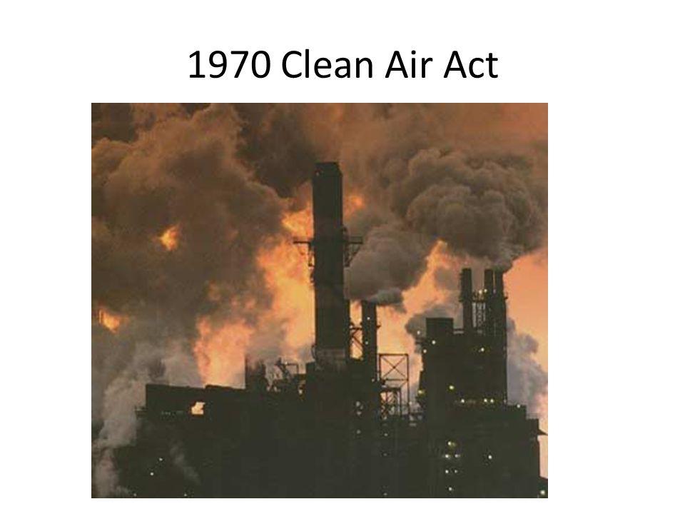 1970 Clean Air Act