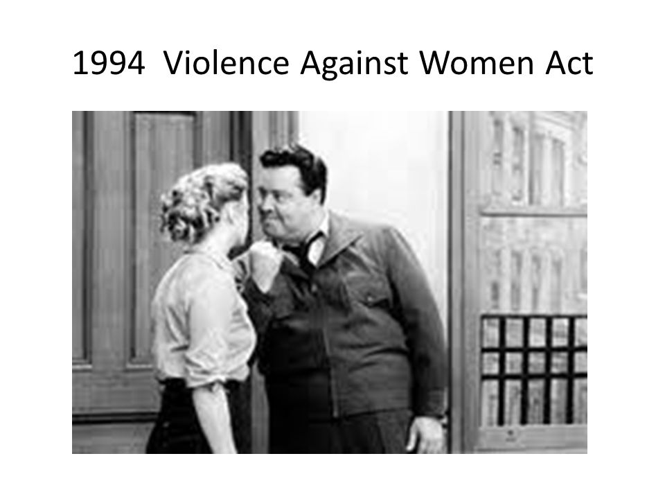 1994 Violence Against Women Act