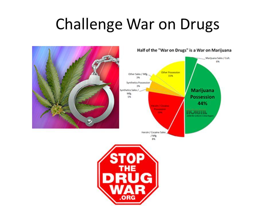 Challenge War on Drugs