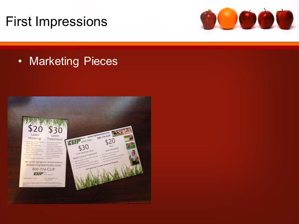 Marketing Pieces