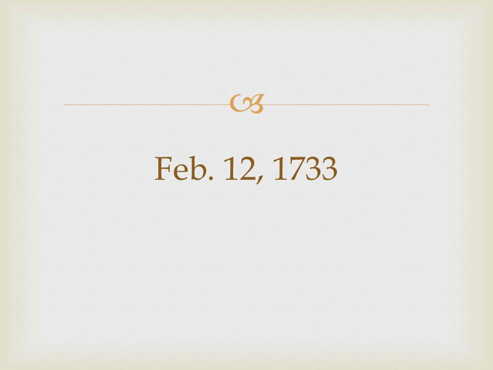  Feb. 12, 1733