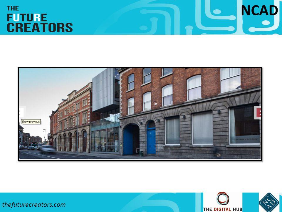 thefuturecreators.com NCAD