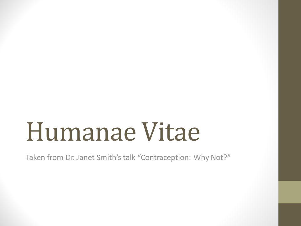 Read the Encyclical of Humane Vite http://www.vatican.va/holy_father/paul_vi/encyclicals/docum ents/hf_p-vi_enc_25071968_humanae-vitae_en.html