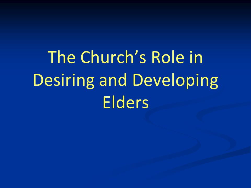 Ruling the Household of God Earthly fathers chasten…for our profit (Heb 12:9) Paul, a father to the Corinthians (I Cor 4:14-16) Paul, a father & mother to Thessalonians (I Thes 2:7-12) Paul, a father to Timothy in the faith (I Tim 1:2) 30 …For if a man does not know how to rule his own house, how will he take care of the church of God.