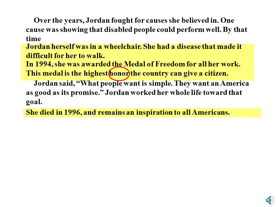 Jordan Goes To Washington In 1973, Jordan became the first black woman from the South to serve in the U.S.