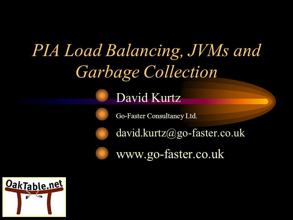 PIA Load Balancing, JVMs and Garbage Collection David Kurtz Go-Faster Consultancy Ltd. david.kurtz@go-faster.co.uk www.go-faster.co.uk