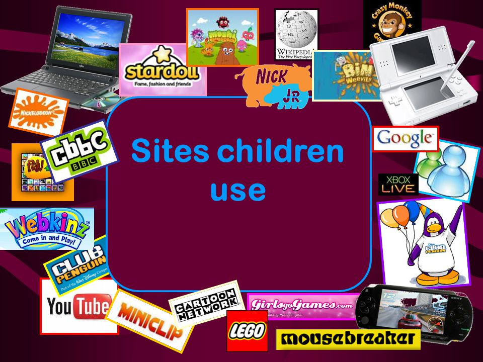 Sites children use