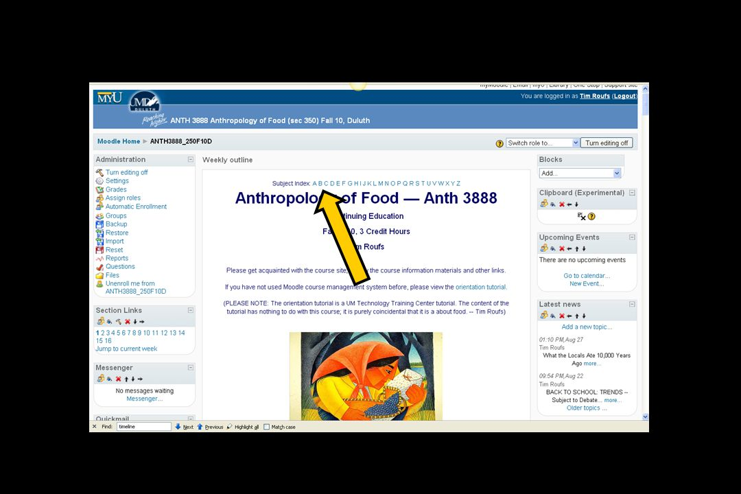 or click on the Food of Countries / Cultures link in the Additional Learner Support Resources section of your Moodle home...