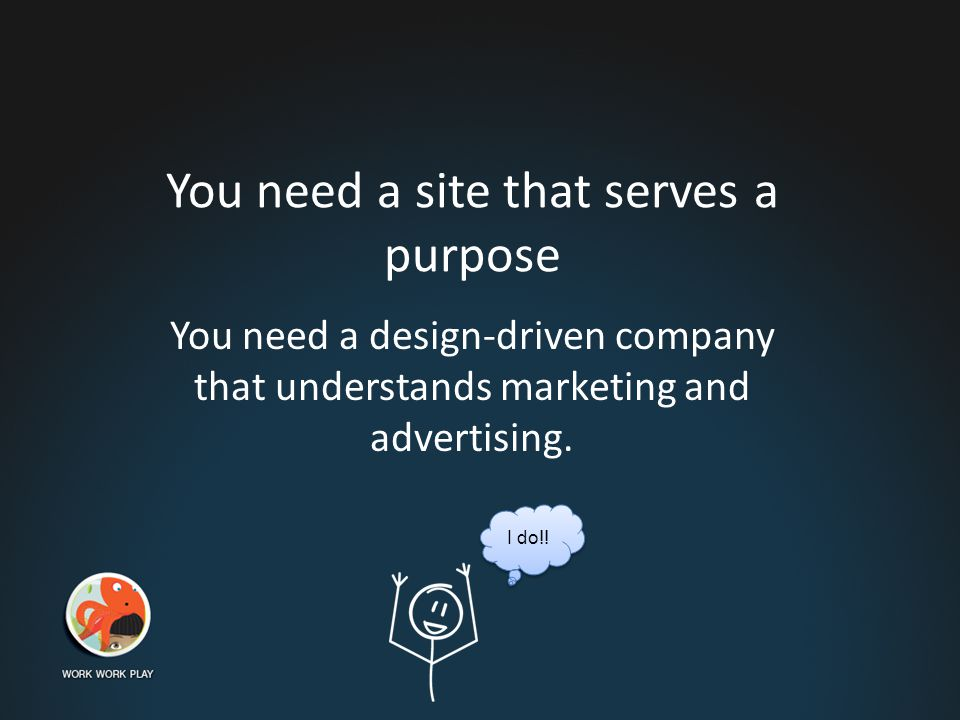 Here's how we can help  Create a website that is modern & user friendly.