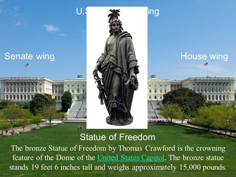 House wingSenate wing U.S.