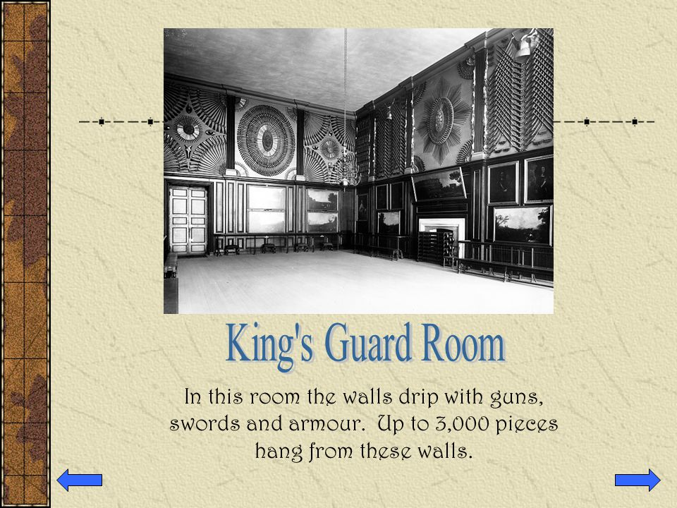 This room was beautifully decorated with portraits hanging from the walls.