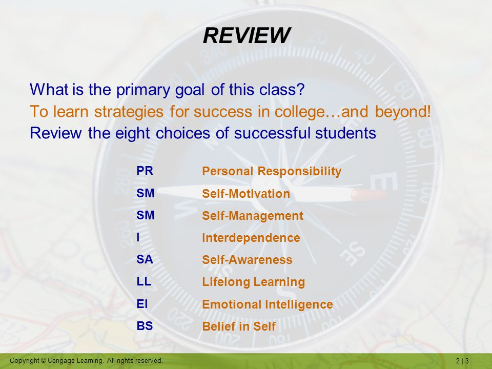 2 | 44 Copyright © Cengage Learning.All rights reserved.