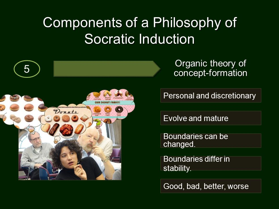 Components of a Philosophy of Socratic Induction 5 Boundaries can be changed.