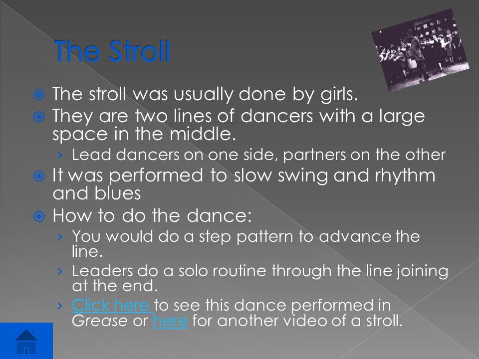  It was an informal sponsored dance at American high schools.
