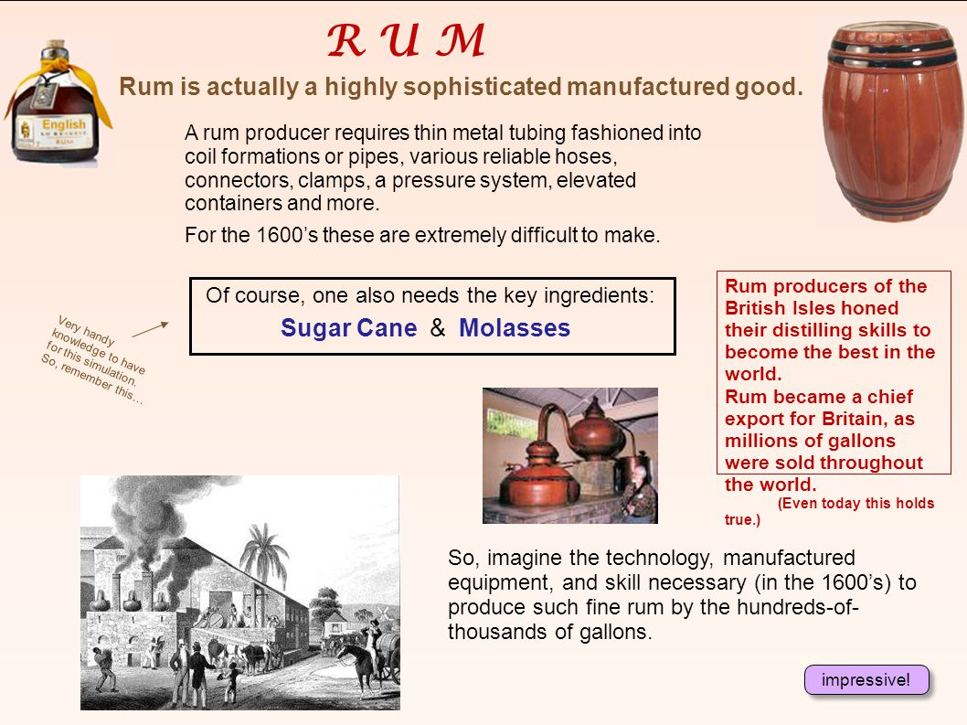 Alright! Your shippers just sold some fruit presses, hammers, saws, bolts, and a hundred gallons of rum for a tidy $10,000. The cost of production in
