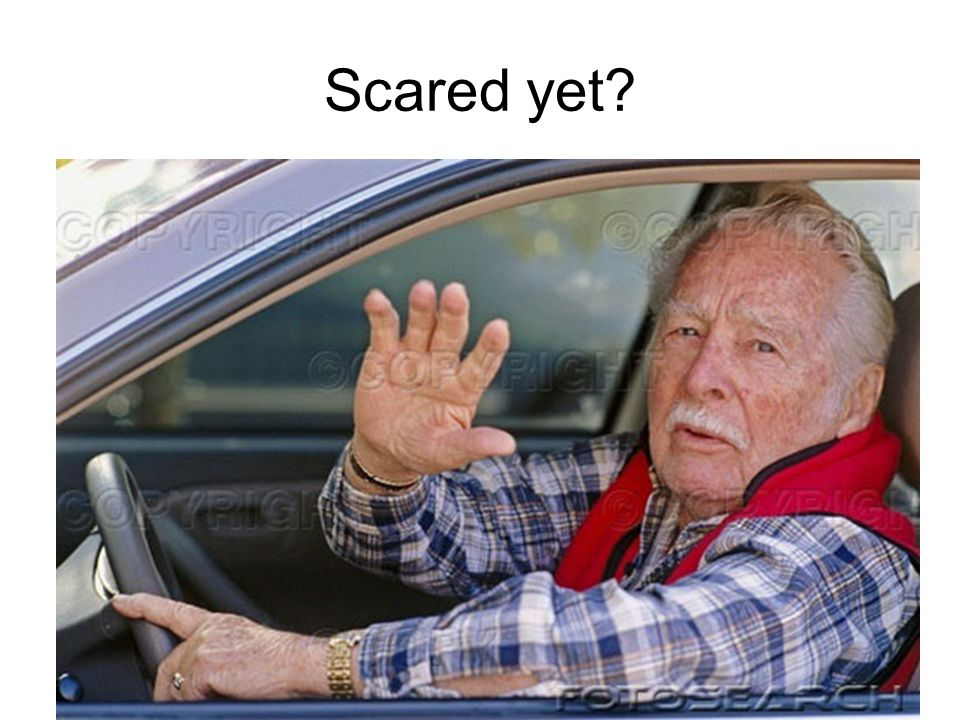 Scared yet?