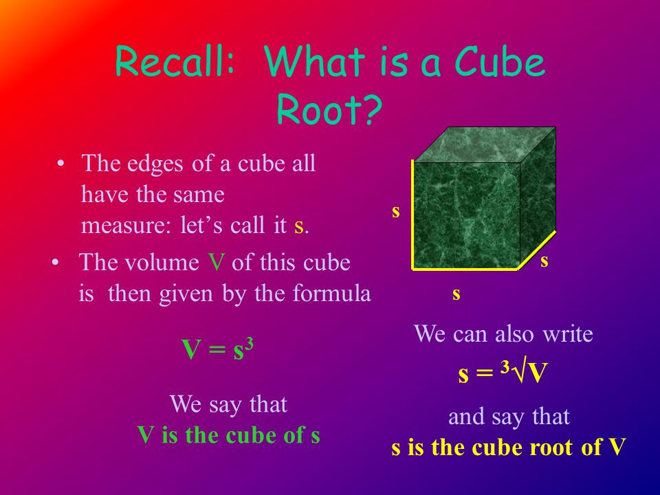 Equivalently: Divide by 1000 and find a cube close to Answer: Hence: