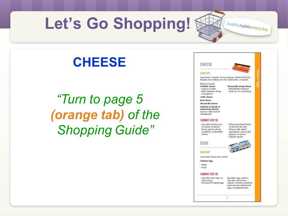 Let's Go Shopping! MILK Practice
