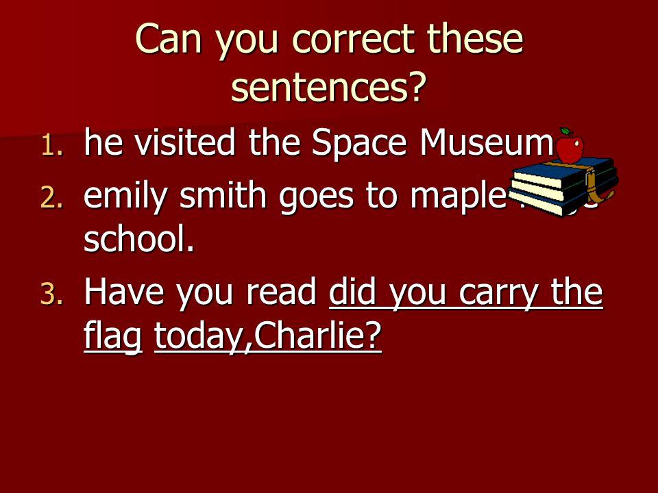 Capitalization Beginning of sentence Beginning of sentence Proper Nouns Proper Nouns Titles Titles