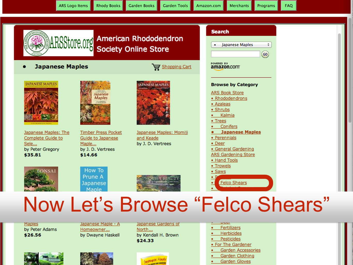 Now Let's Browse Felco Shears