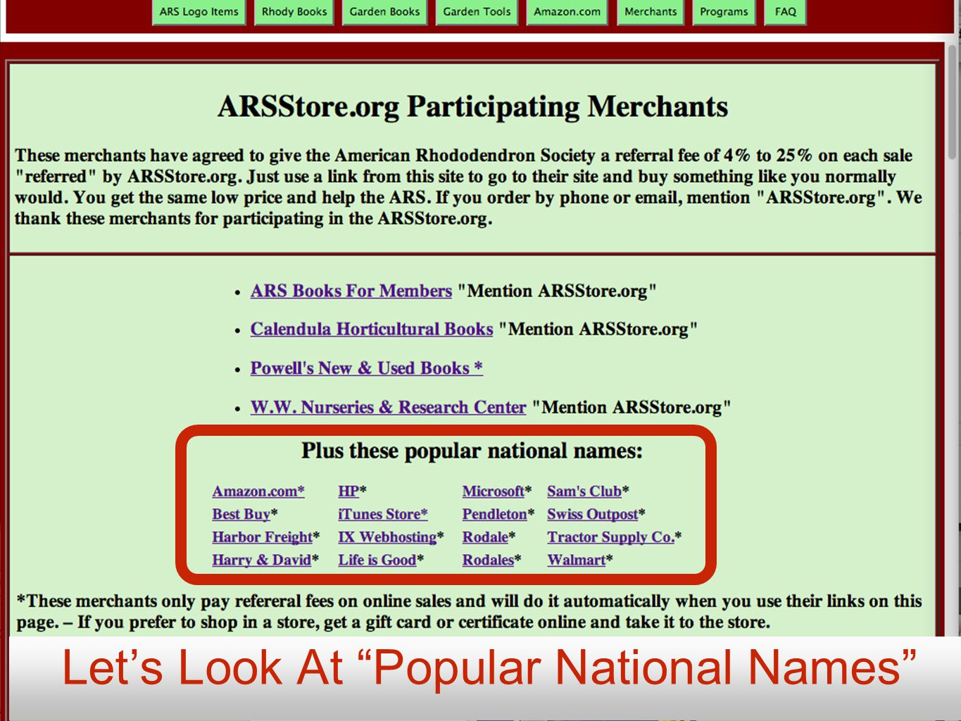 Let's Look At Popular National Names
