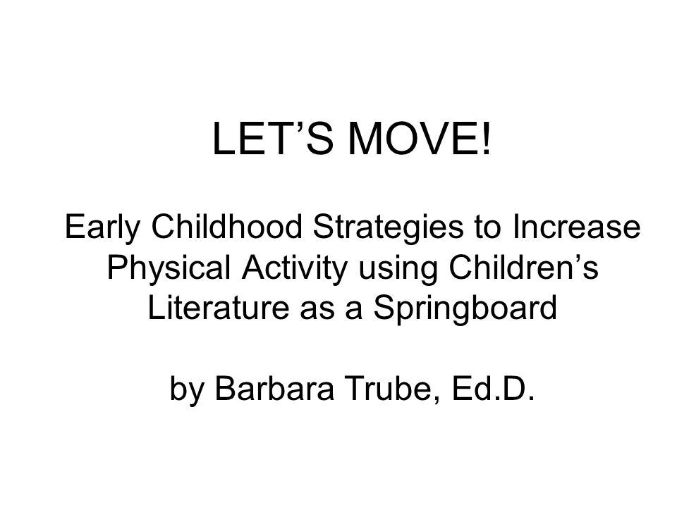 Interactive Movement (IM) IM takes place during a read aloud, shared reading, chant or fingerplay.