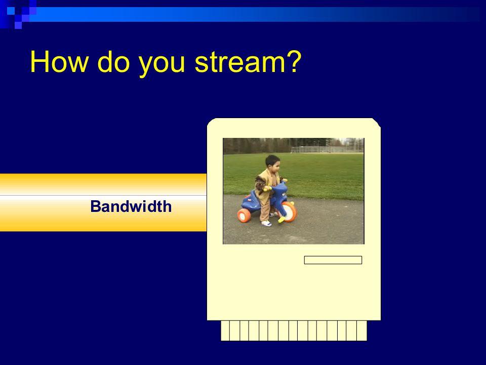 Bandwidth codec Info