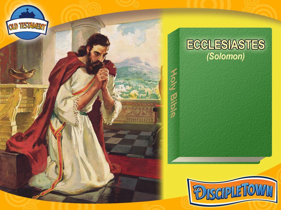 Let ' s Search-Ecclesiastes (2)