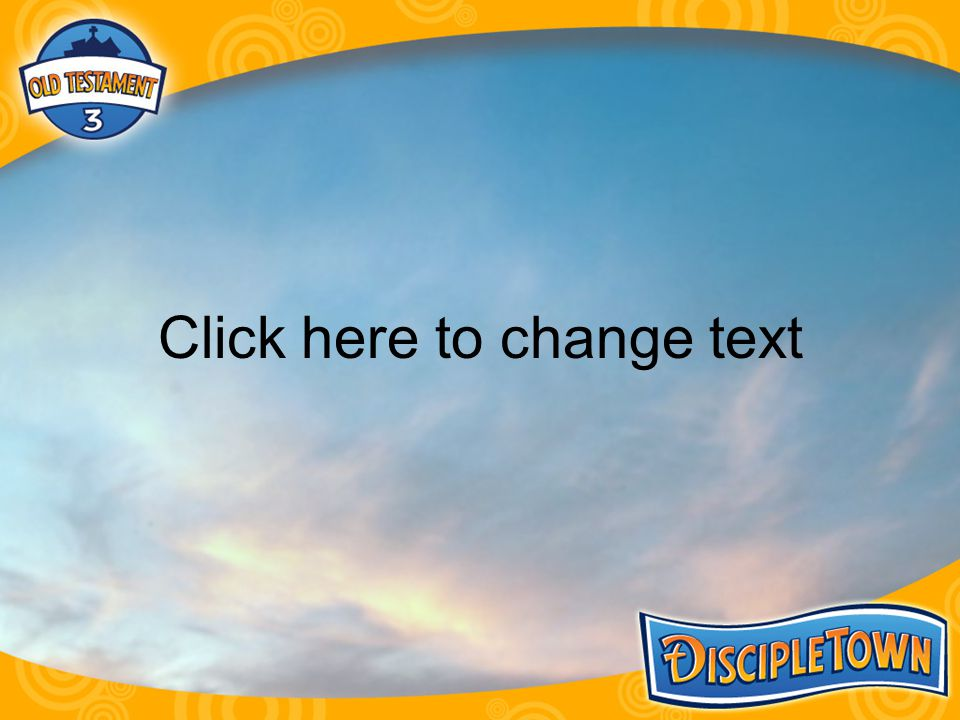 Orange Slide-blank Click here to change text