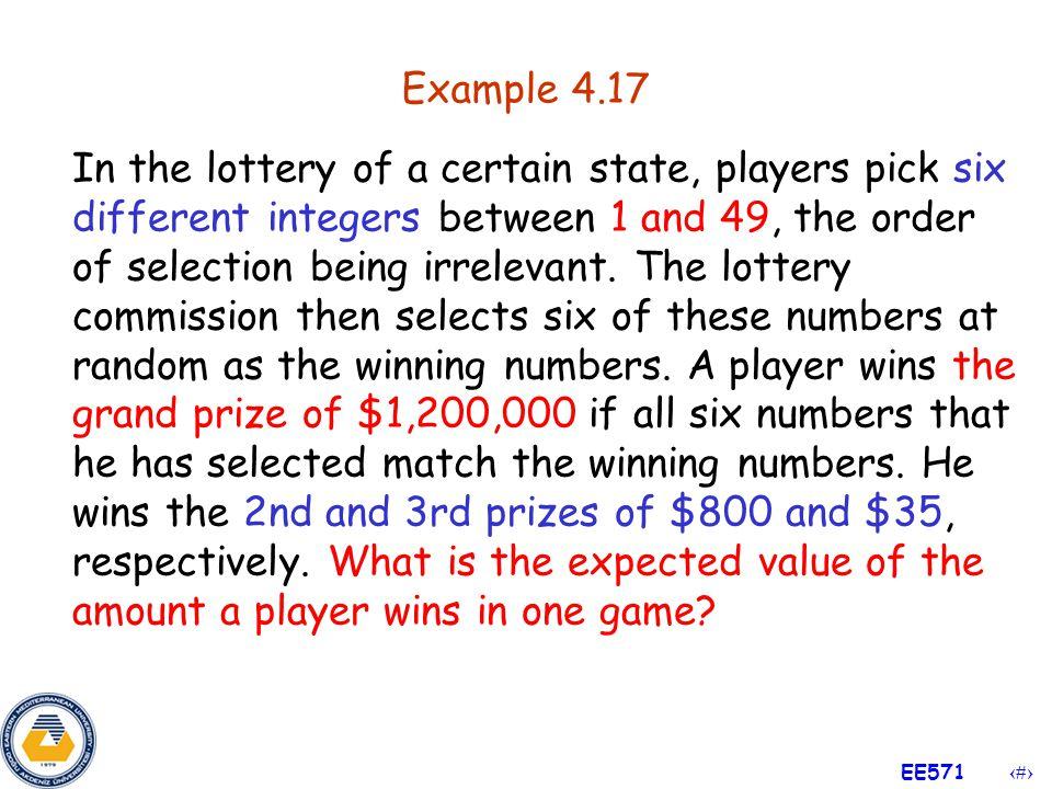 27 EE571 Example 4.16 (Cont'd) Sol :